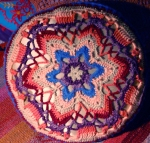 mandala pillow front
