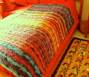 pacific sunset blanket